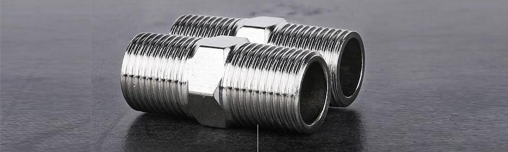 انواع اتصالات مغزی استیل رزوه ای | steel nipple fittings