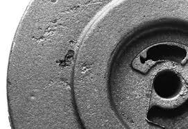 حفره ناشی از سرباره- عیوب ریخته گری دقیق | روش های جلوگیری از عیوب ریخته گری